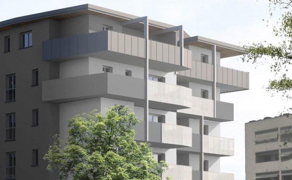 palazzo esterno balconi